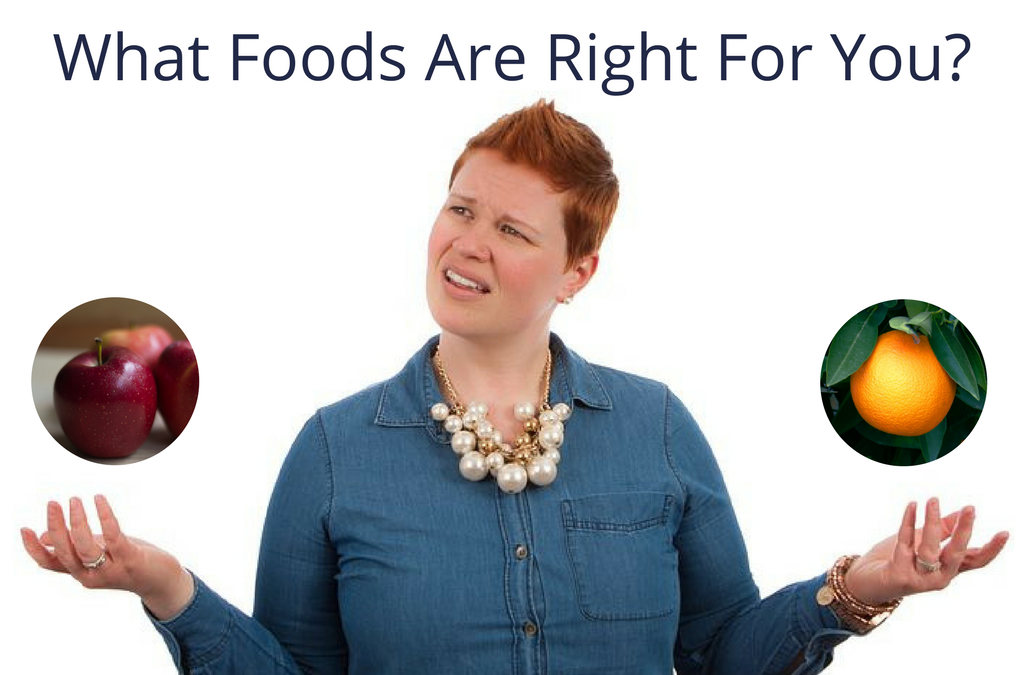 What Foods Are Right For You